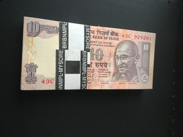 Mahatma Gandhi India 2 Diffx100 Each Unc Mint See Scan - India