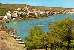 Cadaques , Años 50, 1962,  Costa Brava , Mediterráneo, Barcas, Vintage Casas, Iglesia - Gerona