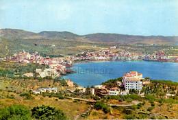 Cadaques , Años 60, 1962,  Costa Brava , Mediterráneo, Barcas, Vintage Casas, Iglesia - Gerona