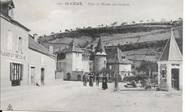 St Céré - Place Du Marché Aux Cochons - Saint-Céré
