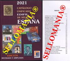CATALOGO EDIFIL 2021 SELLOS DE ESPAÑA SPAIN STAMPS CATALOGUE ULTIMA EDICION 2021 - Spain