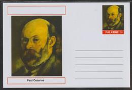 69204 Palatine (Fantasy) Personalities - Paul Cezanne - Cartoline