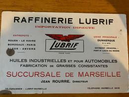 1 BUVARD RAFFINERIE LUBRIF - Automotive