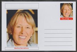 69206 Palatine (Fantasy) Personalities - Martina Navratilova (tennis) - Cartoline