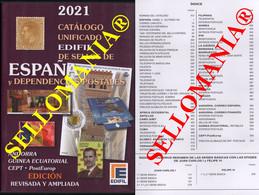 CATALOGO EDIFIL 2021 SELLOS DE ESPAÑA Y EX COLONIAS SPANISH COLONIES STAMPS - Spain