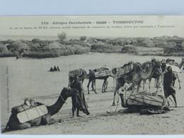 CPA - Soudan - Tombouctou - Le Sel En Barre De 30 Kg Environ - Sudan