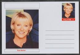 69208 Palatine (Fantasy) Personalities - Sue Barker (tennis) - Cartoline