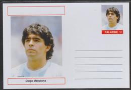 69209 Palatine (Fantasy) Personalities - Diego Maradona (football) - Cartoline