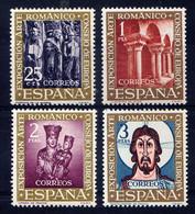ESPAGNE - 1038/1041** - EXPOSITION D'ART ROMAN - 1931-Hoy: 2ª República - ... Juan Carlos I