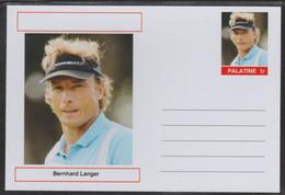69224 Palatine (Fantasy) Personalities - Bernhard Langer (golf) - Cartoline