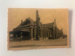 Carte Postale Ancienne Châtelet La Gare - Châtelet
