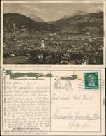 Garmisch-Partenkirchen Panoramablick Mit Der Maximilianshöhe 1928 - Garmisch-Partenkirchen
