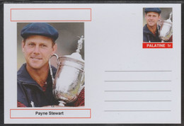 69227 Palatine (Fantasy) Personalities - Payne Stewart (golf) - Cartoline