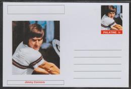 69228 Palatine (Fantasy) Personalities - Jimmy Connors (tennis) - Cartoline
