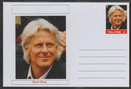69229 Palatine (Fantasy) Personalities - Bjorn Borg (tennis) - Cartoline