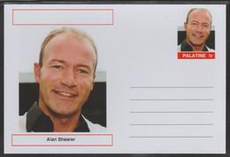 69231 Palatine (Fantasy) Personalities - Alan Shearer (football) - Cartoline