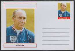 69232 Palatine (Fantasy) Personalities - Alf Ramsey (football) - Cartoline