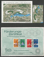 GERMANY - MNH - Sport - Olympic Games - 1972 - Other