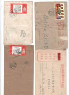 China , 4 ältere Briefe , - 1949 - ... Repubblica Popolare