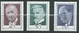Liechtenstein   Série     Yvert N° 510   à  512  **,  3  Valeurs Neuves Sans Charnière  -  Ay 16803 - Official