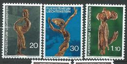 Liechtenstein   Série     Yvert N° 513   à  515  **,  3  Valeurs Neuves Sans Charnière  -  Ay 16804 - Official