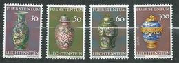 Liechtenstein   Série     Yvert N° 545   à  548  **,  4  Valeurs Neuves Sans Charnière  -  Ay 16805 - Official