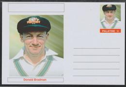 69320 Palatine (Fantasy) Personalities - Donald Bradman (cricket) - Cartoline