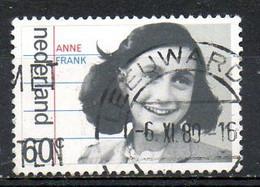 PAYS-BAS. N°1130 Oblitéré De 1980. Anne Frank. - Scrittori