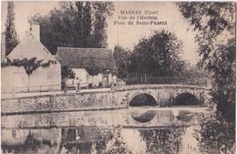 18. MASSAY. Vue De L'Herbon. Pont De Saint-Paxent - Massay