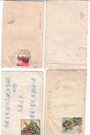 China , 4 ältere Briefe - 1949 - ... Repubblica Popolare