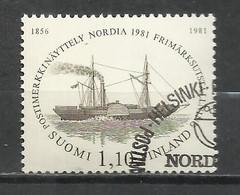 9360E-SUOMI FINLAND FINLANDIA SERIE COMPLETABARCOS SHIPS 1981 Nº844. 6,00€  ENVIOS COMBINADOS SI,SOLO PAGA UN ENVIO,SIEM - Finlande