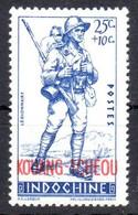 Kouang Tcheou N° 136 Neuf * Cote 1 € - Unused Stamps