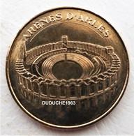 Monnaie De Paris 13.Arles - Arènes Vue Aérienne 2009 - Monnaie De Paris