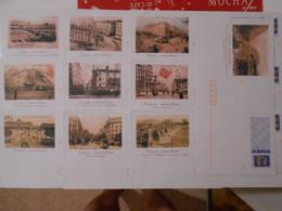 LOT DE 10 ENVELOPPES VUES DE LYON, PRET A POSTER LETTRE PRIORITAIRE 20g NEUVES - Prêts-à-poster:  Autres (1995-...)