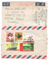China , älterer Brief In Die Bundesrepublik - 1949 - ... Repubblica Popolare