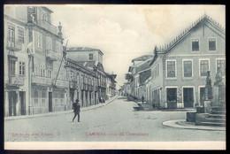 Recordação CAMINHA Rua Corredoura (Estação Telegraphica). Edição João Ribeiro. Old Postcard (Viana Do Castelo) PORTUGAL - Viana Do Castelo