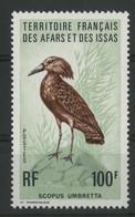 AFARS Et ISSAS COTE 15,50 € N° 413 ** (MNH) 100 Fr. OISEAUX / BIRD. TB - Ongebruikt