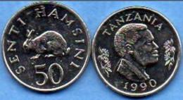 Tanzanie - 50 Shilingi 1992 - Tanzanie