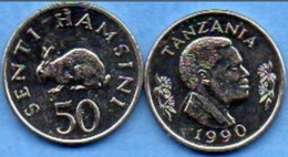 Tanzanie - 50 Shilingi 1992 - Tanzania