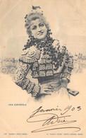 Spain Espagne Una Española Anno 1905 Madrid De Blanco Y Negro Revista Ilustrada     M 5196 - Madrid