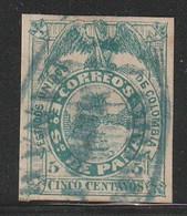 PANAMA - ETAT De La COLOMBIE - N°1 Obl (1878) Armoiries - Panama