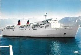 CPA-1970-FERRIES-CORSE/COMTE De NICE -LIAISION - CORSE-CONTINENT -Cie CGT-Edit La Cigogne-Iris-TBE - Ferries