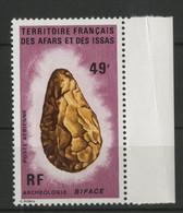 AFARS Et ISSAS POSTE AERIENNE COTE 12 € N°84 MNH** 49 Fr ARCHEOLOGIE. TB - Archeologie