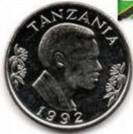 Tanzanie - 1 Shilingi 1992 - Tanzanie