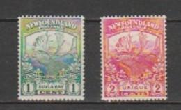 CANDA-NEW FOUND LAND- MNH-Scott # 115-116- Catalog Value-5.75. - Canada