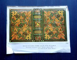 Reliure De Marius Michel Pour Le Neveu De Rameau - Illustration De Bernard Naudin ( Blaizot éditeur 1924) - Altre Collezioni