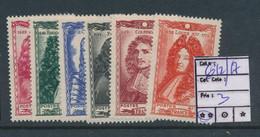 FRANCE YVERT 612/17 MNH POSTFRIS SANS CHARNIERE - France