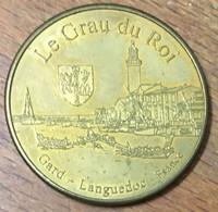 30 GARD LE GRAU DU ROI CAMARGUE MÉDAILLE SOUVENIR JETON TOURISTIQUE MEDALS COINS TOKENS - Touristiques