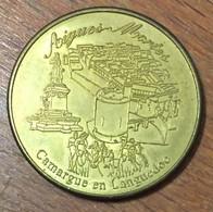 30 AIGUES-MORTES CAMARGUE MÉDAILLE SOUVENIR JETON TOURISTIQUE MEDALS COINS TOKENS - Touristiques