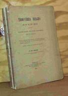 SCHELER Auguste - TROUVERES BELGES DU XIIE AU XIXE SIECLE - Libri, Riviste, Fumetti